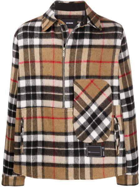Рубашка с воротником свободного кроя с карманами из вискозы We11done