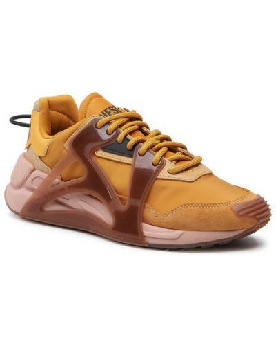Żółte sneakersy Diesel