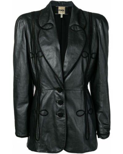 Черная куртка Fendi Pre-owned