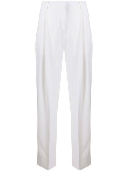 Spodnie z wysokim stanem - białe Jacquemus
