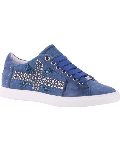 Синие кроссовки Richmond