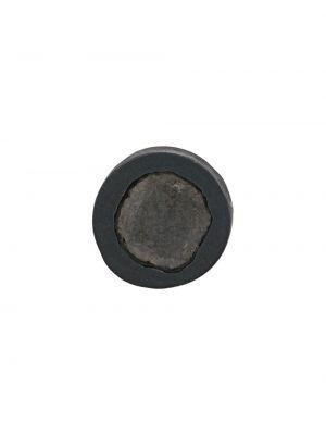 Черные серьги с бриллиантом Parts Of Four
