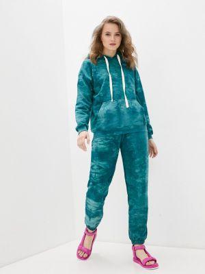 Костюмный зеленый спортивный костюм D.s