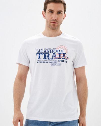 Белая футболка с короткими рукавами Fine Joyce