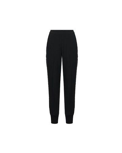 Черные брюки для офиса Via Torriani 88