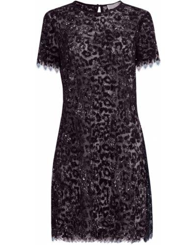 Платье леопардовое с цветочным принтом Michael Michael Kors