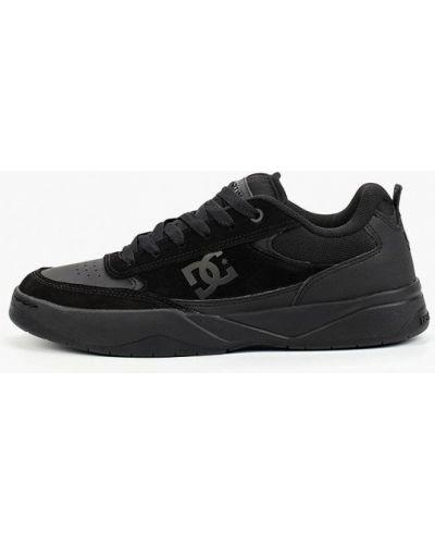 Черные пинетки из нубука Dc Shoes