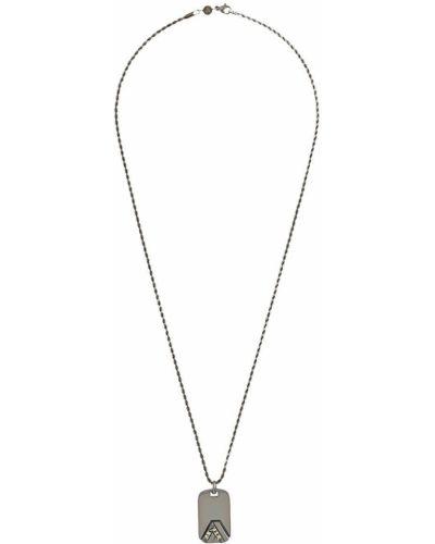 Ожерелье серебряный серый Northskull