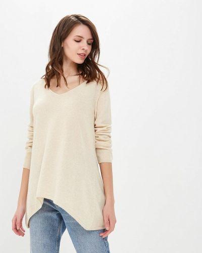 Пуловер бежевый кашемировый Love Cashmere