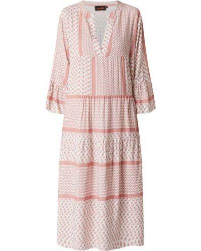 Sukienka rozkloszowana - różowa Miss Goodlife
