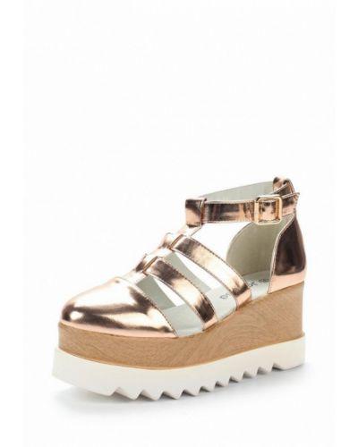 Кожаные туфли с застежкой на лодыжке Janessa