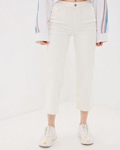 Широкие джинсы расклешенные белые Ovs