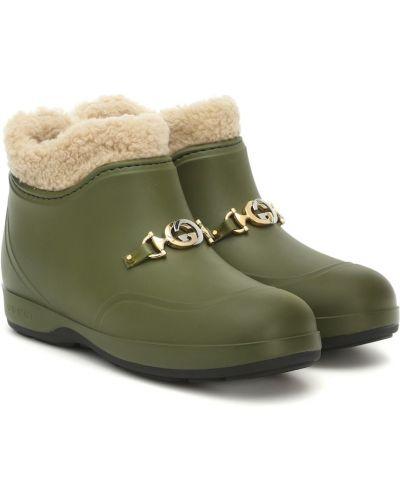 Zielony buty Gucci