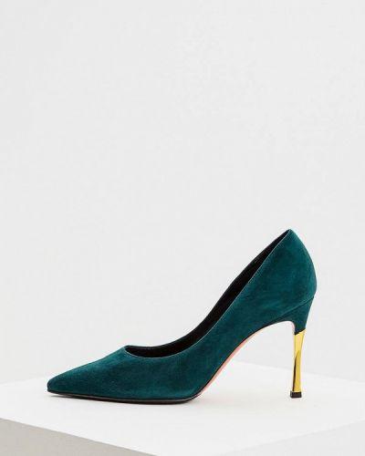 Туфли-лодочки на каблуке осенние Baldinini
