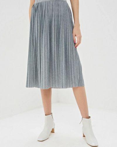 Плиссированная юбка серая Haily's
