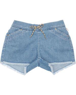 Синие джинсовые шорты Chloé