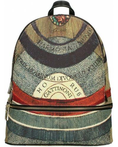 Czarny plecak Gattinoni