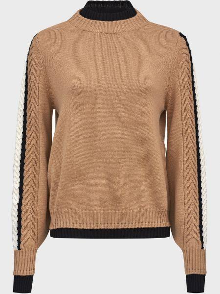 Кашемировый свитер - коричневый D.exterior