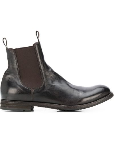 Ankle boots, czarny Officine Creative