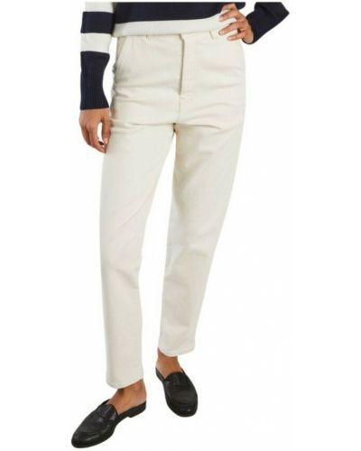 Białe mom jeans Sessun