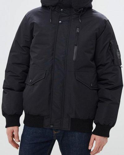 Зимняя куртка утепленная черная Celio