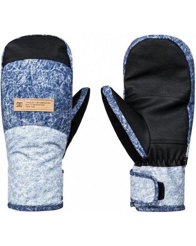 Синие перчатки сноубордические Dc Shoes