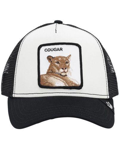 Z paskiem baseball czarny kapelusz z haftem Goorin Bros