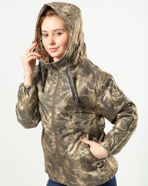 С рукавами коричневая куртка T.ycamille