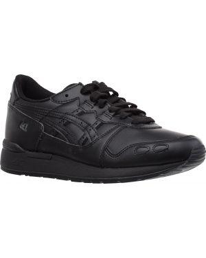 Кожаные кроссовки - черные Asics