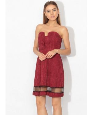 Вечернее платье бордовый красный Tutto Bene