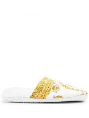 Слиперы - белые Versace