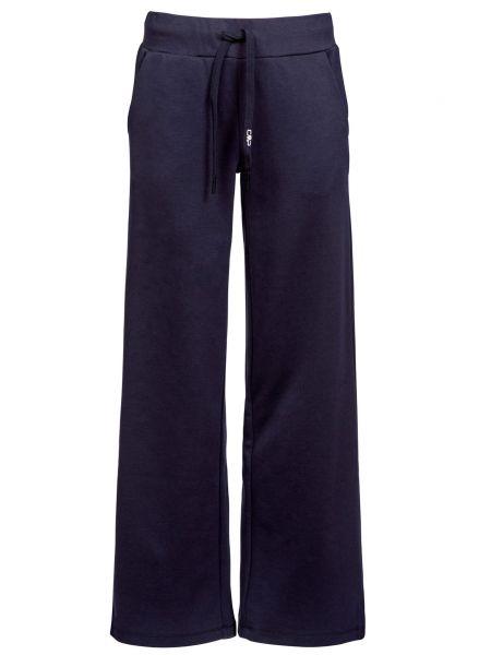 Хлопковые синие спортивные брюки Cmp