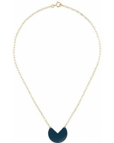 Ожерелье золотое с подвесками круглое Isabel Marant