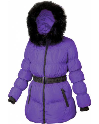 Куртка с капюшоном - фиолетовая Mirage