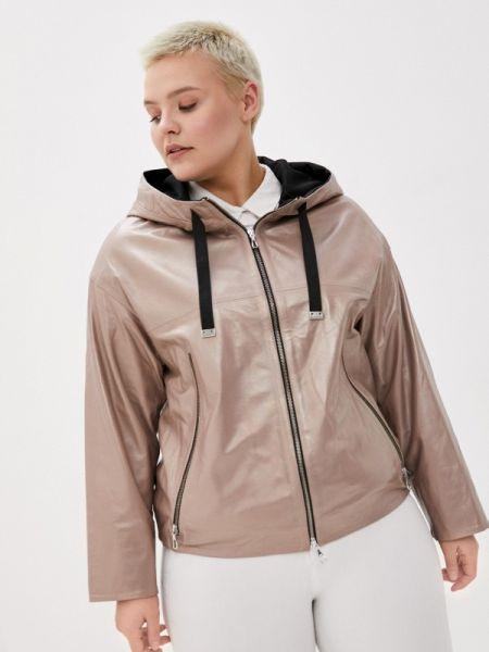 Кожаная куртка весенняя Le Monique