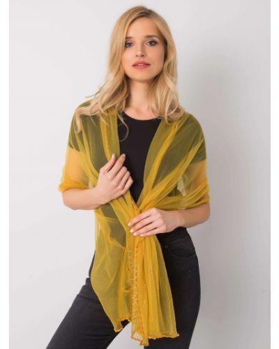 Szalik - żółty Fashionhunters