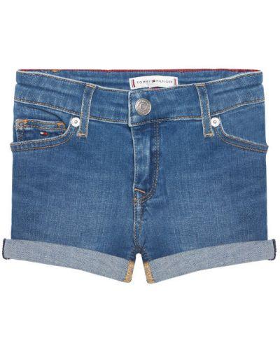 Szorty jeansowe - niebieskie Tommy Hilfiger