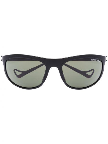 Czarne okulary z akrylu District Vision