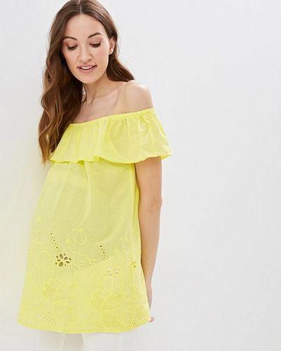 Блузка - желтая очаровательная адель