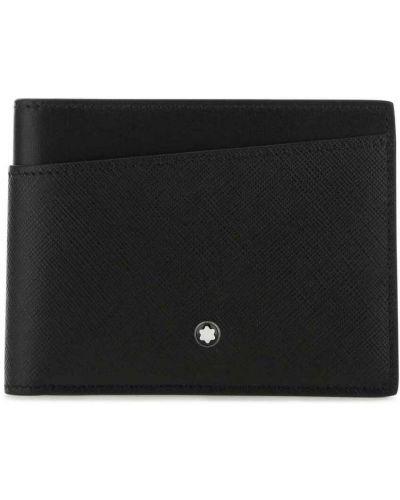 Czarny portfel Montblanc