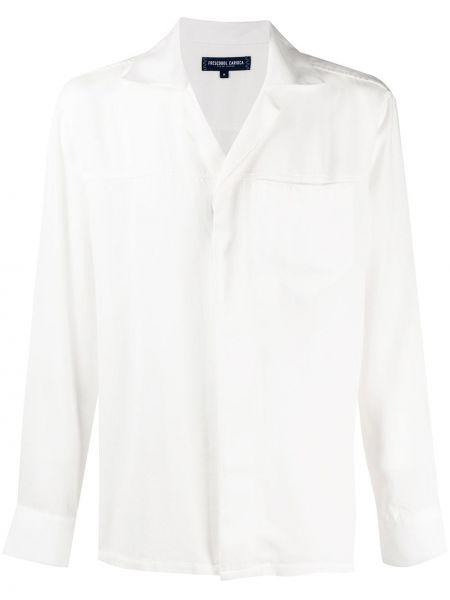 Koszula z długim rękawem prosto długa Frescobol Carioca