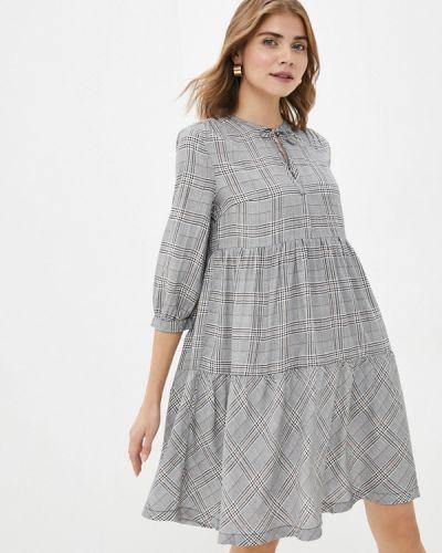 Прямое серое платье Q/s Designed By