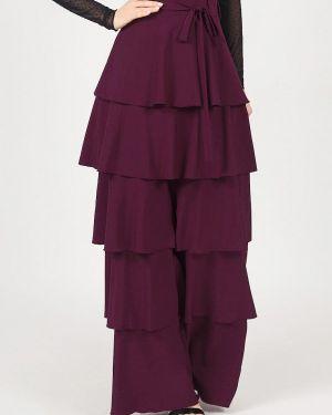 Юбка широкая фиолетовый Marichuell