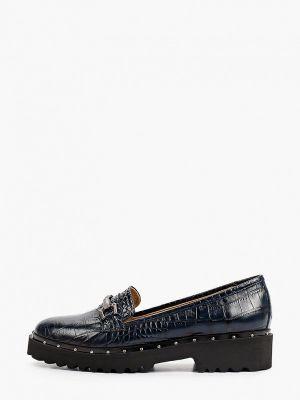 Синие демисезонные туфли Hestrend
