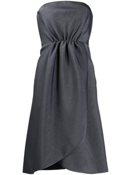 Платье с завышенной талией приталенное Giorgio Armani