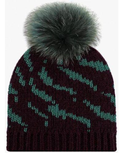 Фиолетовая шапка осенняя Vilermo