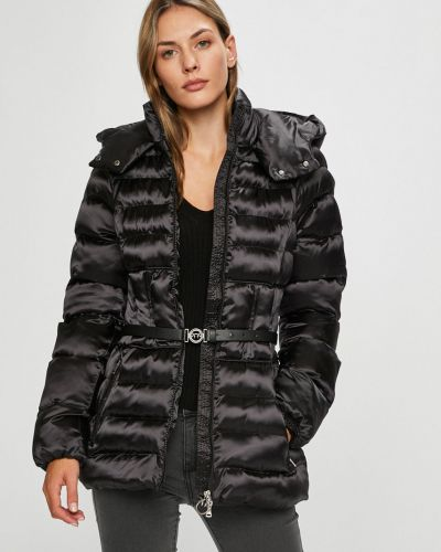 Куртка с капюшоном стеганая с карманами Pinko