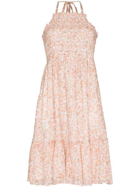 Платье в цветочный принт Loveshackfancy