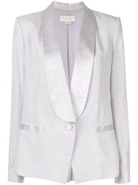 Прямой удлиненный пиджак на пуговицах Karen Walker