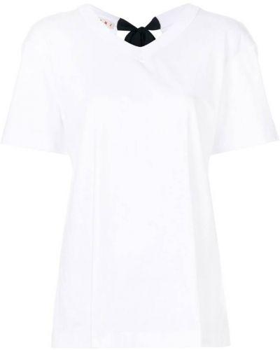 Белая футболка Marni